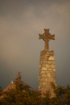 Cross commemorating the removal of the Moors from Siurana