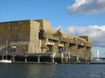 Keroman Submarine Base in Lorient - built by the Germans during their occupation of Lorient in WWII