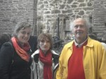 My gracious hosts in Bretagne - Yves and Monique