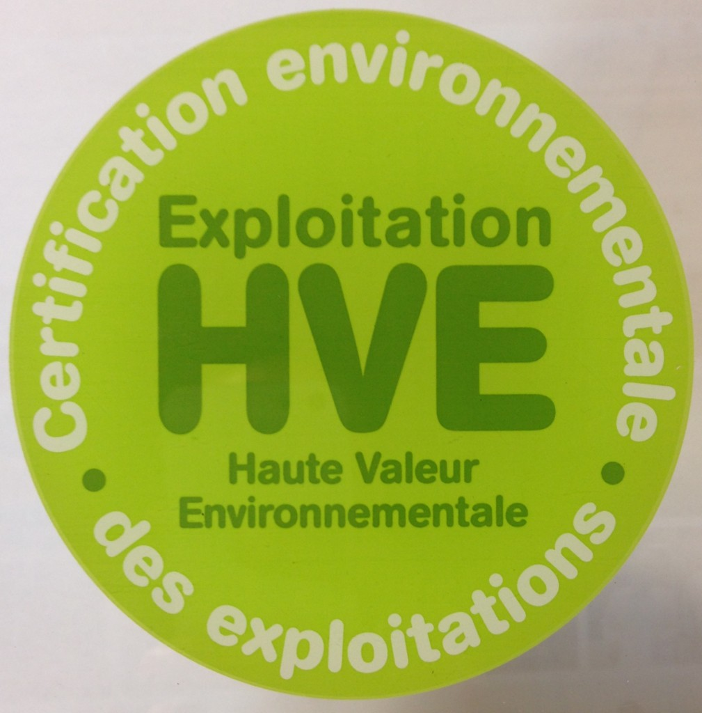 france s high environmental value certification what